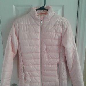 Brand New Pink Puffer Jacket